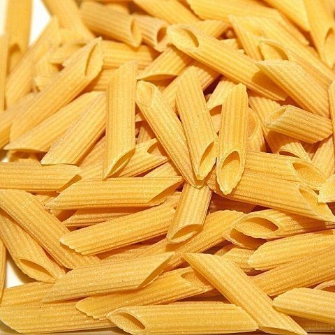 Penne rigate of hard wheat
