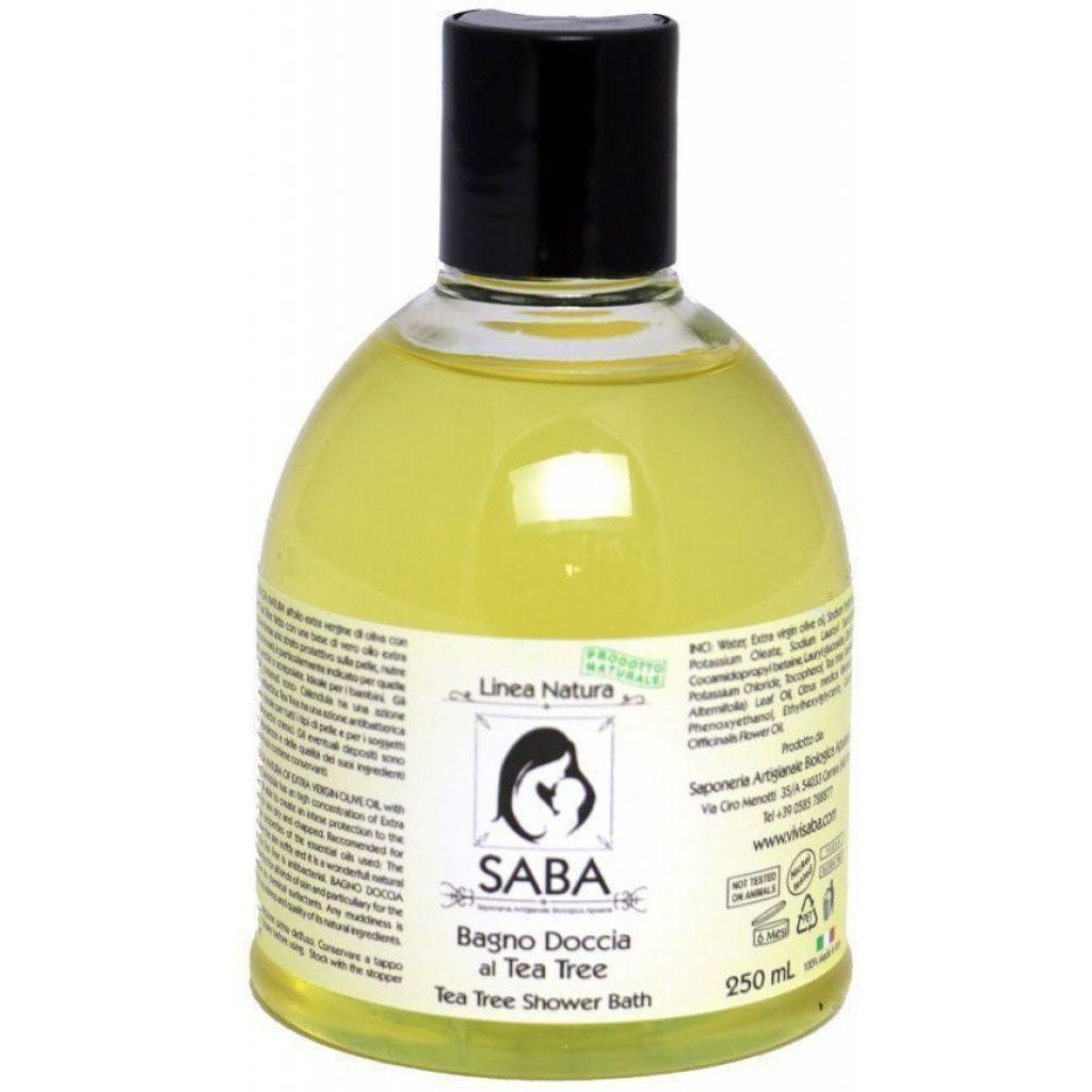 Bagno doccia olio extravergine e tea tree 5 litri for Bagno d olio