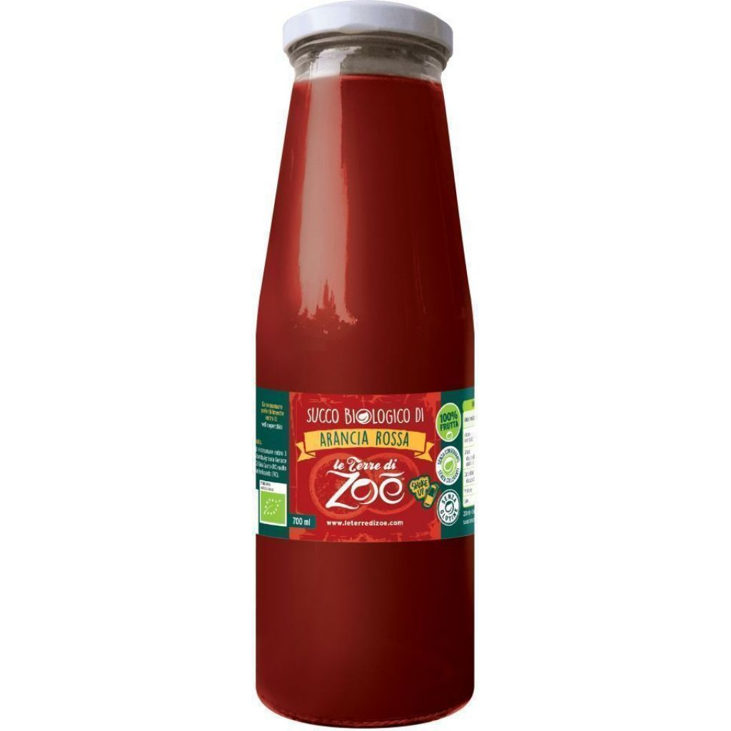 Succo Biologico di Arancia Rossa - bt 700 ml