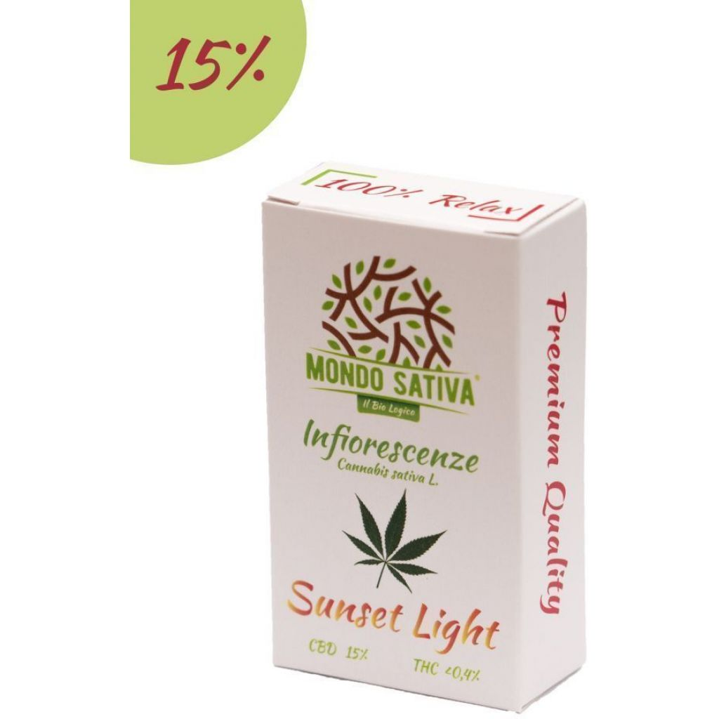 Canapa Sunset Light - 15% CBD