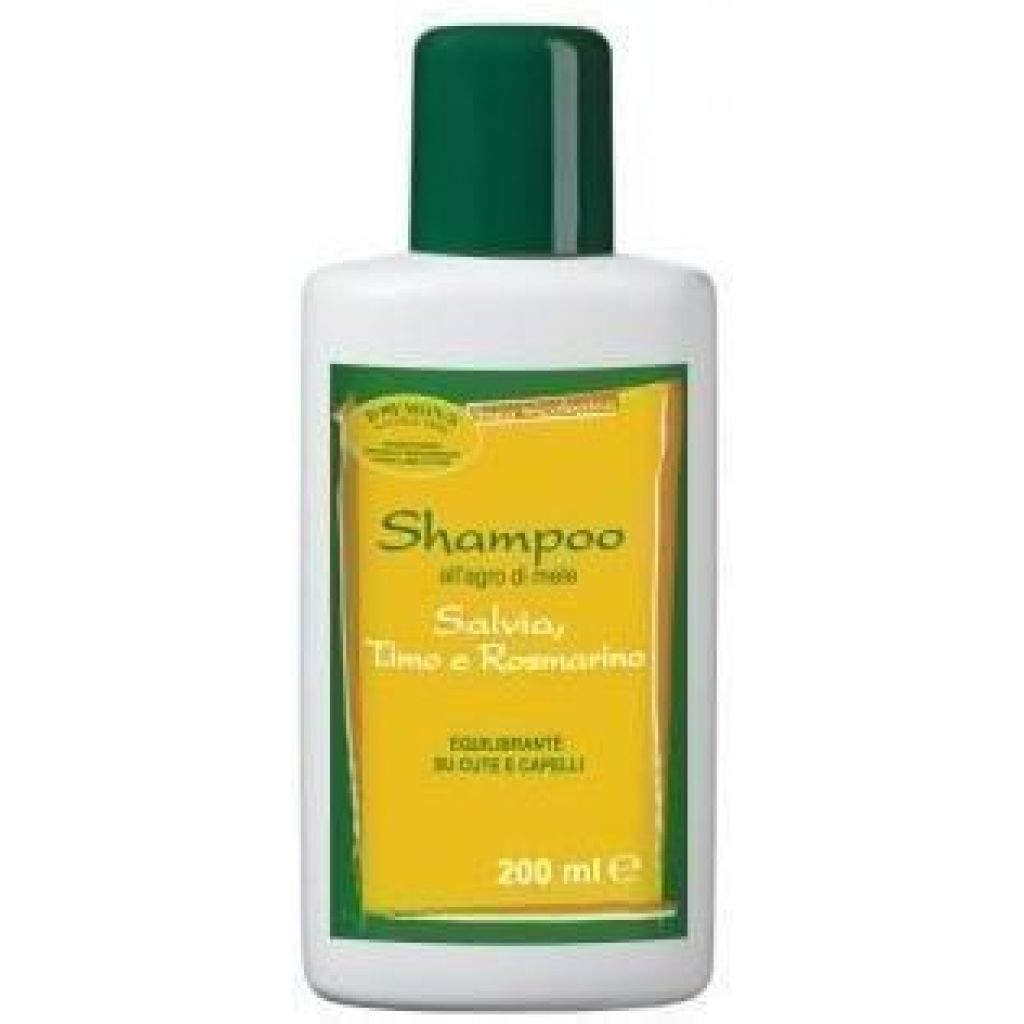 Shampoo with Sage thyme and rosemary sebum balance