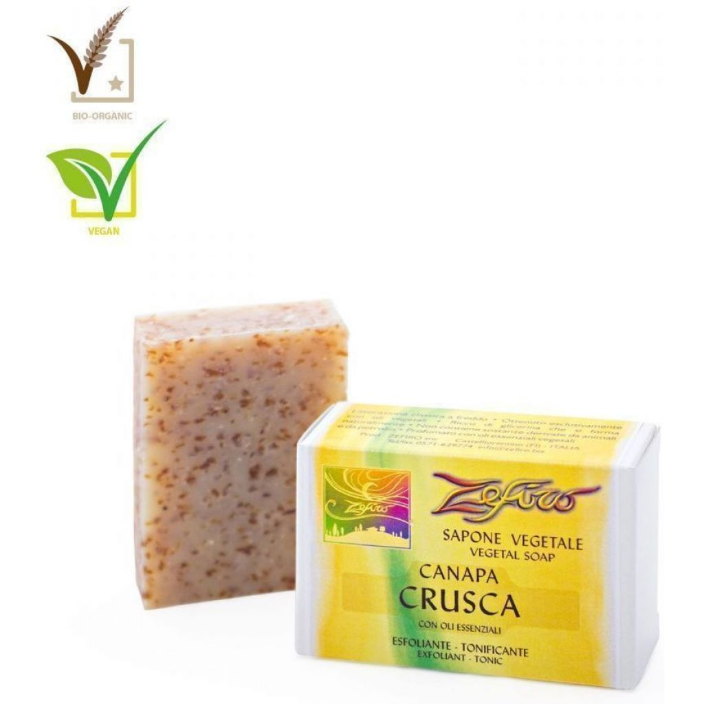 Soap 100 gr. Hemp and Bran